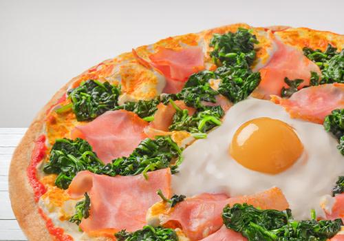 Pizza Spinaci (Jumbo)