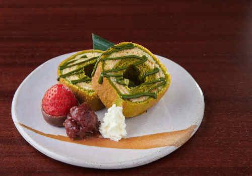 Matcha Baumkuchen