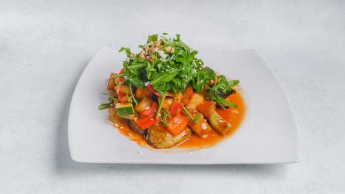 Batinjan Khodar (vegetarisch)