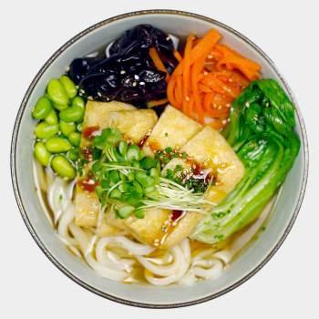 Age Udon Soup