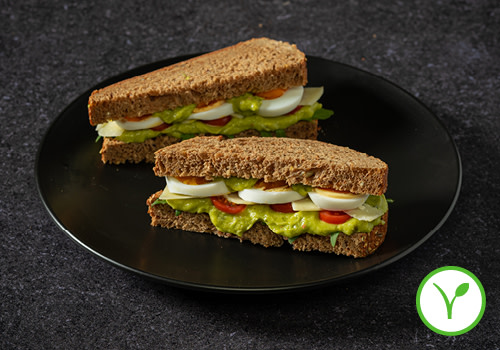 Sandwich Avocado met Ei