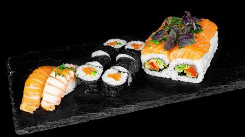 393 - Lachs Sushi Box (18 Stk.)