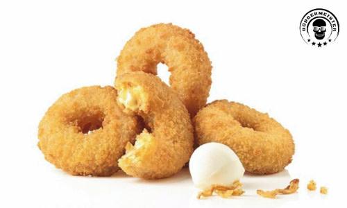 Mozarella Onion Rings (6 Stück)