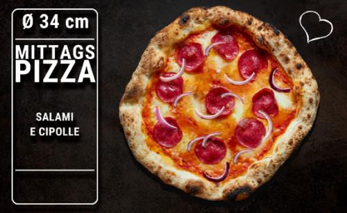 Lunch Pizza Salami e Cipolle  Ø 34cm