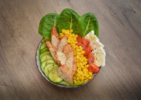 Hähnchen Salat