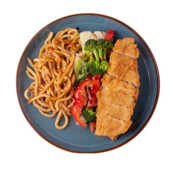 Chicken Tempura- Udon