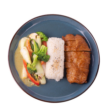Veggie Ente - Curry