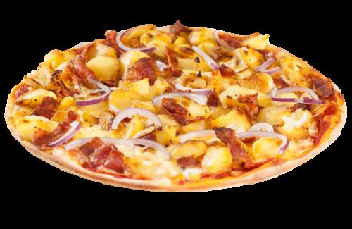 Bratkartoffel Pizza Solo 25cm <sup>A,F,K</sup>