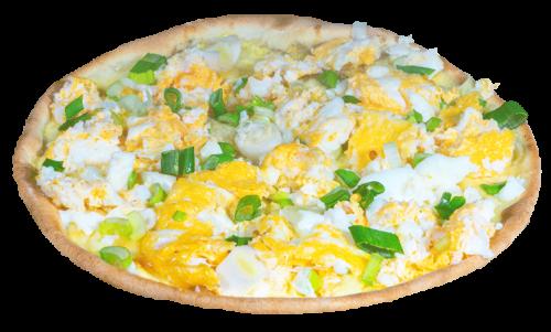 Rührei Pizza Family 40cm <sup>F,S,V</sup>