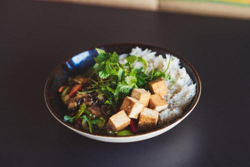 Gemüse Wok  mit Tofu