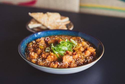 Indisches Rote Linsen Curry Gemüse