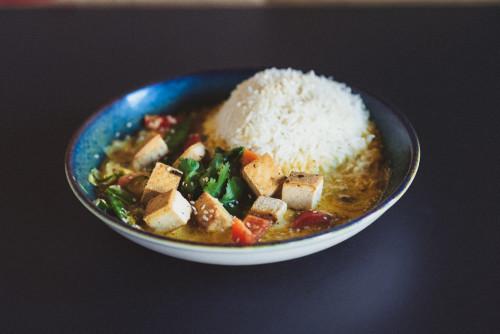 Thai Curry Gemüse Tofu