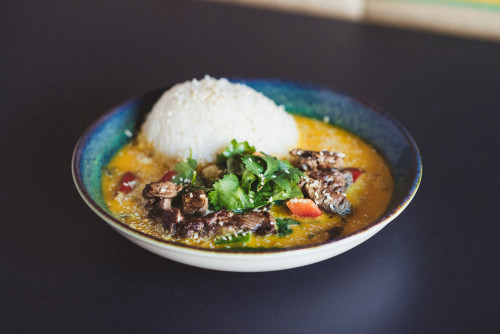 Thai Curry Rindfleisch