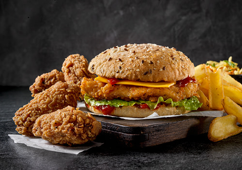 Seizoensdeal | Spicy Chicken burger met gratis Spicy Chicken wings