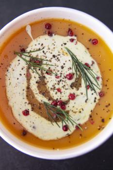 Hausgemachte Suppe - Süßkartoffelsuppe