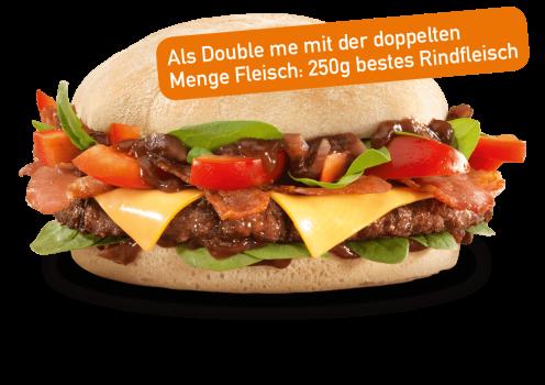 Onion Chutney Burger Double me