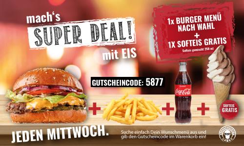 GT III Burger Menü