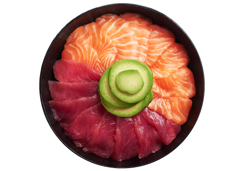 Chirashi Salmon-Tuna