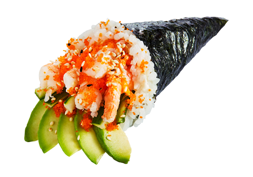 Temaki Shrimps