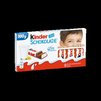 Ferrero Kinder Schokolade 100g Tfl.