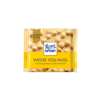 Ritter Sport Nuss-Klasse Weisse Voll-Nuss 100g Tfl.