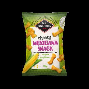 Mr. Knabbits Mexicana Snack 75g Btl.