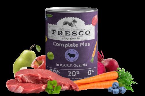 Nassfutter FRESCO Complete Plus Lamm 400g