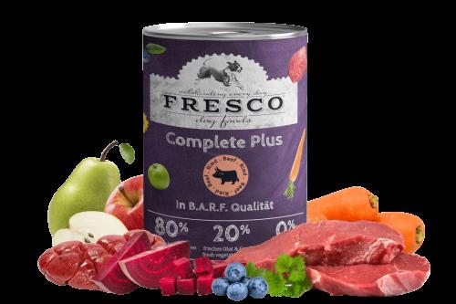 Nassfutter FRESCO Complete Plus Rind 400g
