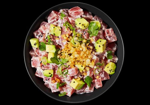 Creamy Tuna Tartar