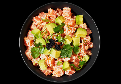 Spicy Salmon Tartar