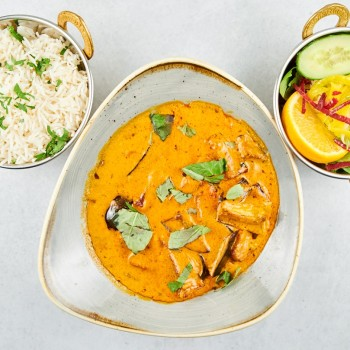 Amchi Bengan Masala (vegan) (leicht scharf)