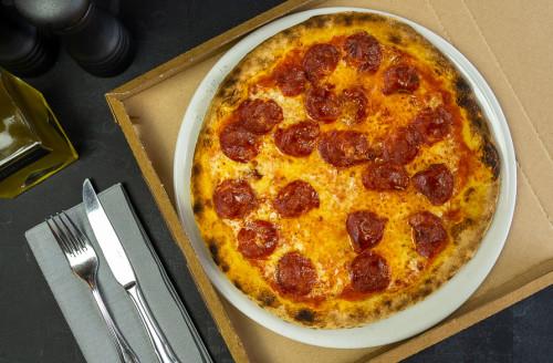 Pizza Salame Piccante