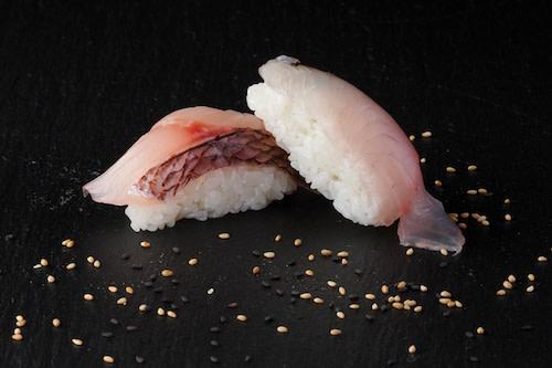 Hamachi Nigiri (2 Stück)