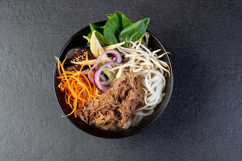 Pho Bo mit Pulled Beef