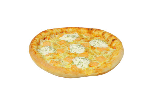 Pizza Lachs [32]