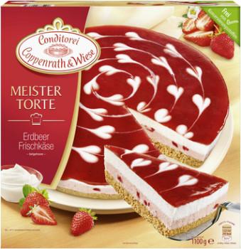 Erdbeer-Frischkäse-Torte  (1100g)