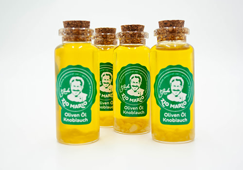 Zio Mario Knoblauch Olivenöl