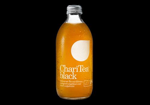 Chari Tea black 0,33l