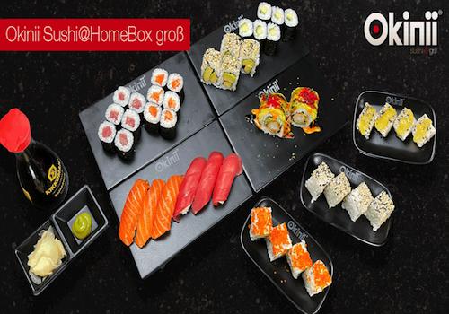 Okinii Sushi@HomeBox groß 42 Pieces