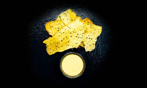 TresOr Cracker mit Dip