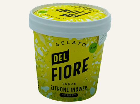 Del Fiore Zitrone und Ingwer 150 ml BIO