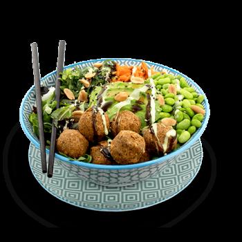 Falafel Poke Bowl