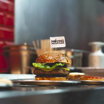 No'muh Burger (vegan)