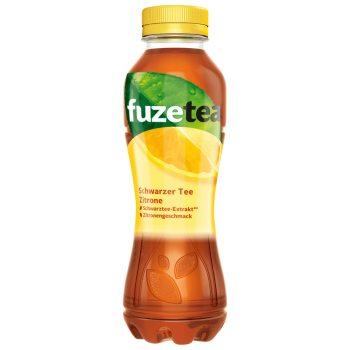 Fuze Tea Zitrone 0,4l EW PET