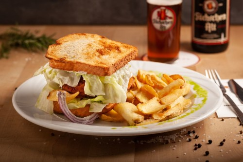 Der Sammler (Veggie-Burger)