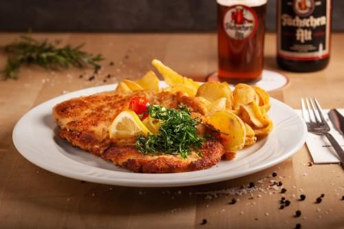 Schnitzel 'Wiener Art' (Hänchen)