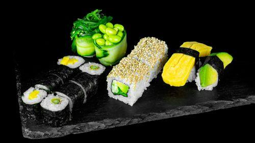 S389 - Veggy Sushi Box Premium (16 Stk.)