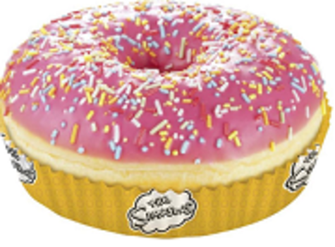Simpsons Donut Pink Glased
