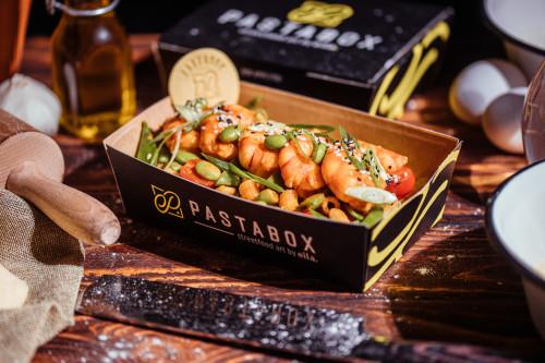 Maccaroni Shrimps Style