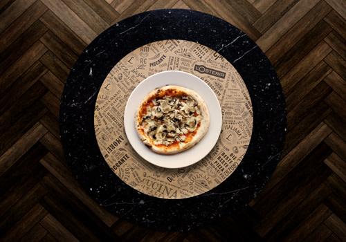Pizza Maria aux champignons frais